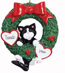cat ornament my personalized ornaments