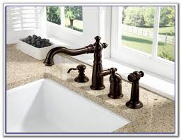 delta touchless kitchen faucet oil rubbed bronze sinks and