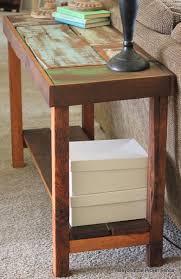 Wood Sofa Table Design Sofas Center Spectacular Diy Projects Usingeclaimed Wood Sofa