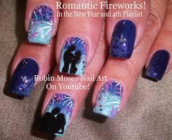 robin moses nail art romantic firework nail art design tutorial