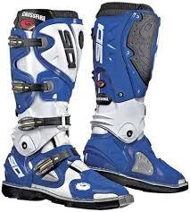 motocross boots sidi crossfire motocross boots sidi cross white blue sidi