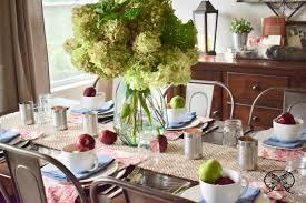 Bushel  Peck Table Setting JENRON DESIGNS - Design a table setting
