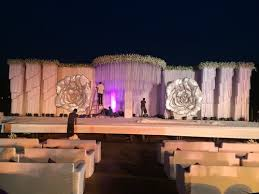 Beautiful Wedding Stage Decoration Stage Decoration Service Provider From Pune
