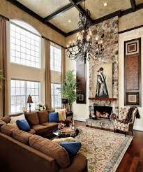 Decorating Ideas For Living Rooms With High Ceilings Living Room With High Ceilings Decorating Ideas Images Ceiling
