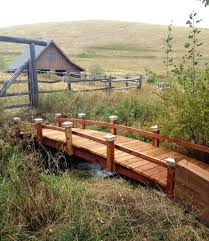 awesome picture of backyard bridge ideas catchy homes interior