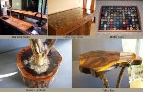 Epoxy Table Top Ideas by Bar Epoxy Source Bartopepoxy Com Liquid Glass Coating I Can