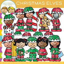 christmas elves christmas elves clip images illustrations whimsy