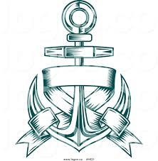 vintage martini clipart anchor symbol clip art 40