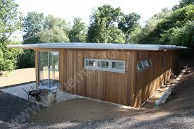 mobile home brighton cedar clad flat roof lodge value mobile bespoke design manufactured with insulation values and wall thickness of a building regulation house whilst still conforming to the caravans act as a