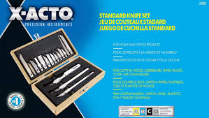 x au bureau arts crafts set x acto x5083 standard knife set