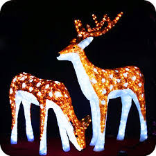 Outdoor Christmas Deer With Lights Christmas Moving Reindeer Christmas Moving Reindeer Suppliers And