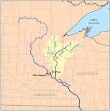 map st croix st croix river wisconsin minnesota