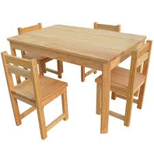 childrens table and chair set with storage buy luxo tonto long kids table and chair set natural online