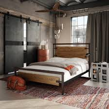 amisco factory bed 12389 furniture bedroom industrial