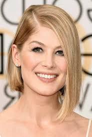 shoulder length asymmetric bob hairstyles idea for blonde hair