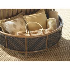 Patio Storage Ottoman Bahama Island Estate Lanai Patio Storage Ottoman In Beige