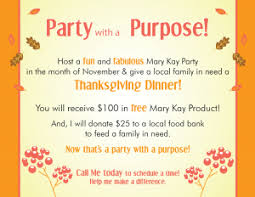 give more this thanksgiving and with a purpose mk