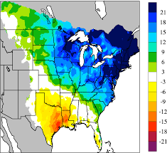 United States Climate Map by Data And Scripts