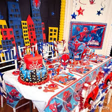 Avengers Table And Chairs Spider Man Chair Deco Diy Table Decorating Ideas Spider Man