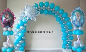 frozen theme party decoration in delhi noida faridabad u0026 gurgaon