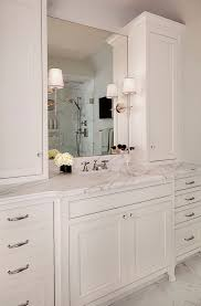 Small Bathroom Vanity With Drawers 25 Best White Bathroom Cabinets Ideas On Pinterest Master Bath