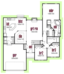traditional house floor plans house plan 56402 at familyhomeplans com