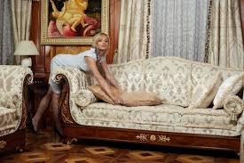 sofa in attractive a sofa in luxury hotel stock photo