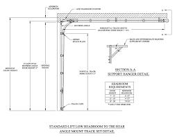 Overhead Door Track Fancy Overhead Door Track Details R45 About Remodel Amazing Home