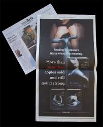 Fifty Shades Of Grey Resume 50 Shades Of Grey Ad Campaign U2014 Meredith Pahoulis Digital Art