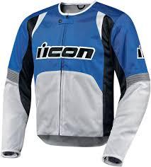 blue motorcycle jacket icon overlord textile jacket blue