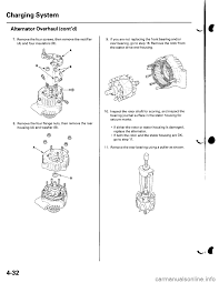 charging honda civic 2003 7 g workshop manual