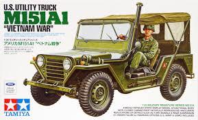 jeep tamiya tamiya 35334 us utility truck m151a1 vietnam war with 1 figure 1