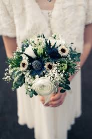 Wedding Flowers Blue Best 25 Thistle Bouquet Ideas On Pinterest June Wedding Flowers