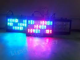 sound activated dj lights 2pcs lot led strobe dj lights 12w rgb sound activated auto disco