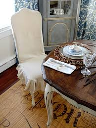Slipcovered Armchairs How To Make A Custom Dining Chair Slipcover Hgtv