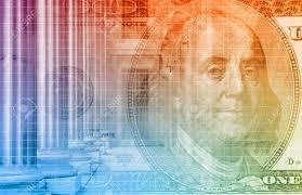 Financial Spreadsheet A Finance Spreadsheet Tech Graph Art Background Stock Photo