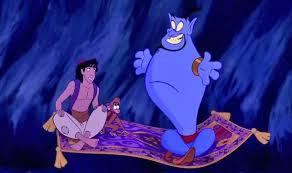 disney making genies live action film aladdin u0027s genie