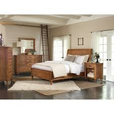 Bedroom Furniture Solid Wood Construction Riverside Summerhill Sleigh Bed Hayneedle