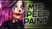 visage pour halloween sur msp youtube