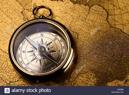 Old Map Background Compass On The Old Map Background Stock Photo Royalty Free Image