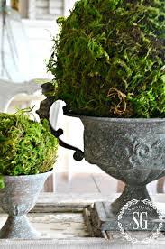 Moss Vase Filler Textured Moss Ball Diy Stonegable