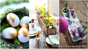 homemade easter decorations for the home 30 superb last minute easy easter crafts for your decor