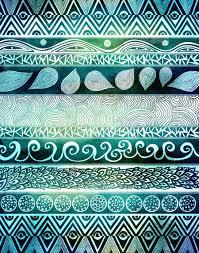 images of tribal patterns aztec fan