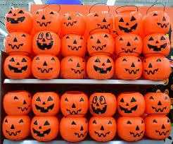 plastic pumpkins plastic pumpkins basket stock photo image of
