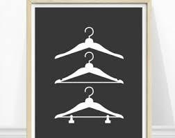 Laundry Room Hangers - laundry symbols print laundry room art laundry instructions