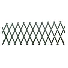 expanding trellis fencing wooden expanding trellis green 1 8x0 3m at homebase co uk
