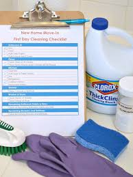 move in cleaning checklist organized 31