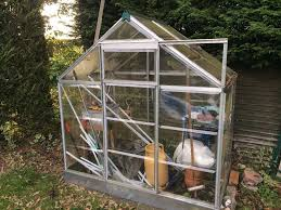 Palram Polycarbonate Greenhouse Palram 6x4 Metal Polycarbonate Greenhouse Used In Blackwater