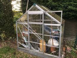 Palram Greenhouse Palram 6x4 Metal Polycarbonate Greenhouse Used In Blackwater