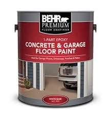 1 part epoxy concrete u0026 garage floor paint behr premium behr